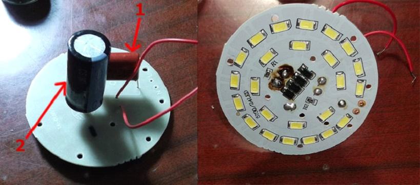 Ремонт диодной лампы своими руками мигает диодная лента 90