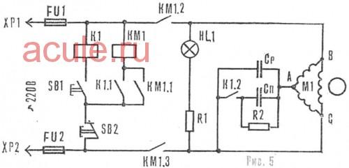 Elektromotor 3-phasig